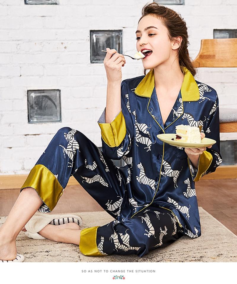 Aliexpress.com : Buy CR New 2018 Silk Robe Bathrobe Ladies