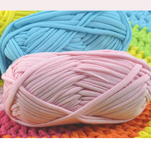 Soft Thick Yarn For Knitting Carpet Handbag Big 8-10mm Crochet Cloth Fancy Yarn lanas para tejer 200g/lot