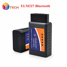 Lowest Price ELM327 Bluetooth OBDII V2.1 CAN-BUS Diagnostic Scanner obd 2 Elm 327 Bluetooth Car Scan Tool Free Shipping(China)