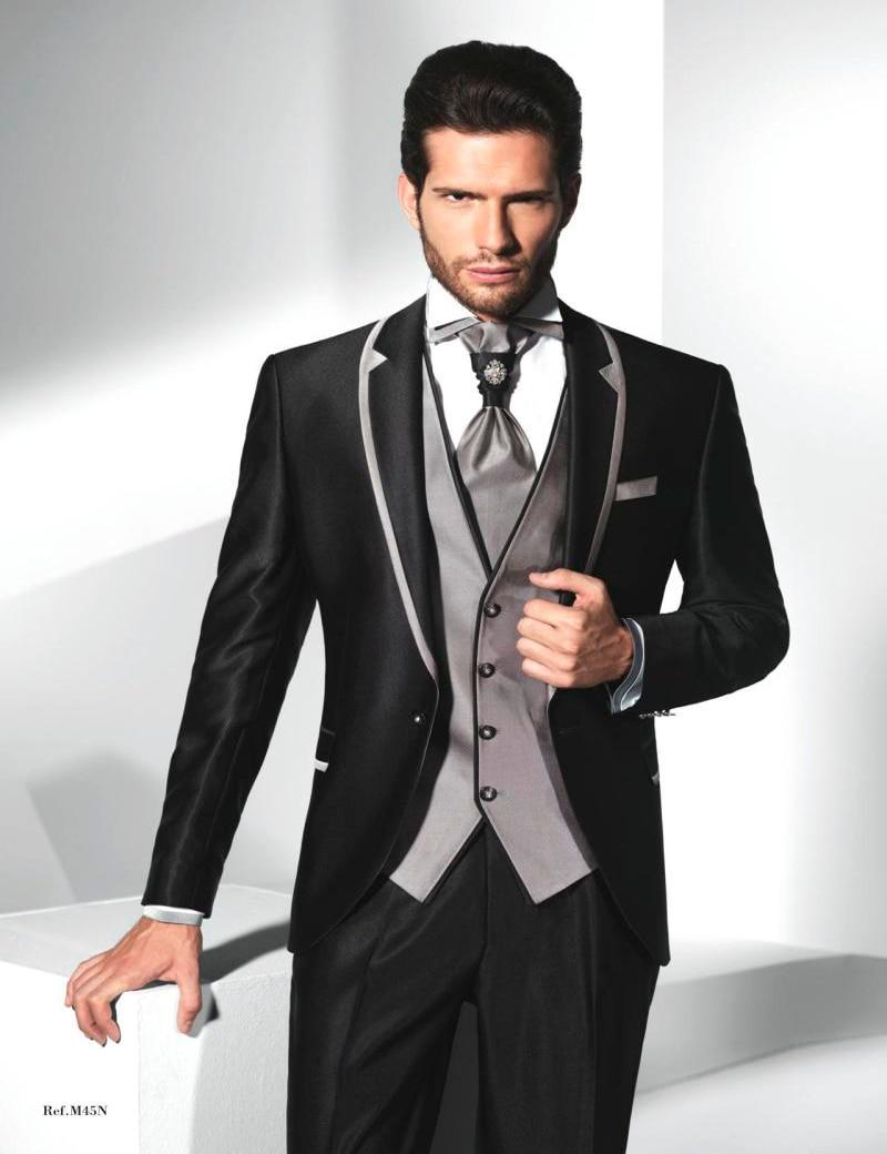 Online Get Cheap Black Suit Jacket with Grey Pants -Aliexpress.com ...
