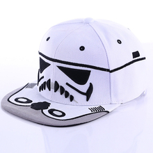 Fashion Summer 1Pc Unisex Cool Snapback Hats Cool Boy Strapback Letter Baseball Cap Black White Men Women Hip-hop Fitted Hats(China)