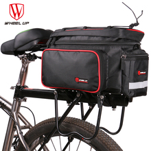 Large Capacity Bike Camel Bag Foldable Bicycle Tail Bag Big Bicycle Luggage Pack Reflective Cycling Equipment