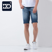 Factory Promotion Mens Jeans Shorts Casual Fashion Design Jeans Short Men Cool Cold Mens Jeans Shorts Best For Summer(China)