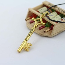 Attack on Titan Cosplay Costume Eren Basement Key Necklace New Free Shipping