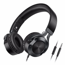 Sound Intone Adjustable Wired Headset Earphone Detachable Earbuds Fashion Rock Heavy Bass Headphones with Microphone