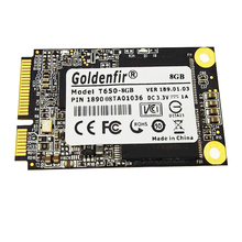 Goldenfir Msata SSD 64GB 32GB 16GB 8GB Internal Solid State Hard Drive Disk 8GB 16GB 32GB 64GB SSD Msata for laptop(China)