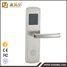 Stainless steel High Quality Electronic RFID card hotel door lock with access control(China)