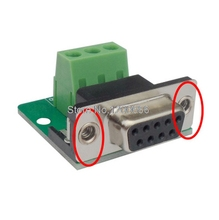 Serial port DB9 Welded lead leads 235 feet RS232 connector COM port Male head without housing