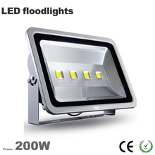 Free shipping China factory Wholesale outdoor led flood light 200W IP65 waterproof 3 years warranty CE Rohs 100LM/W Epistar chip