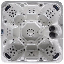 2802 Wholesale hot tubs outdoor spas 7 seats for party(China)