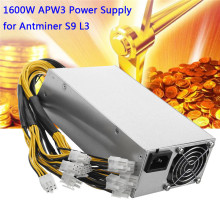 Buy 1600 Watt Miner Power Supply Mining Machine 1600W APW3++ PSU Power Supply AntMiner Server BTC Eth Bitmain A3 S9 D3 for $179.00 in AliExpress store