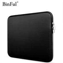 "BinFul Newest Sleeve Case For Macbook Laptop AIR PRO Retina 11"",12"",13"",14 15 15.6 inch, Notebook Bag 14"", 13.3"",15.4"""