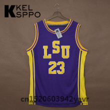 Custom Adult Throwback Basketball Jerseys #23 Pete Maravich LSU Tigers Embroidered Basketball Jersey Size XXS-6XL(China)