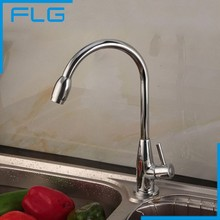 Free Shipping Deck Mounted Single Cold Water Faucet for Bathroom & Kitchen, torneira monocomando