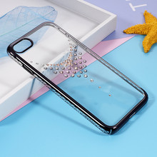 For iPhone 7 Original KINGXBAR From Swarovski Crystals Decoration Hard Case for iPhone 7 Covers(China)
