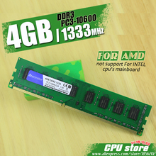 New 4GB DDR3 PC3-10600 1333MHz For Desktop PC DIMM Memory RAM 240 pins For AMD System High Compatible