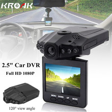 Mini 2.5 Inch Full HD 1080P Car DVR Vehicle Camera Video Recorder Dash Cam Registrator Registrar Night Vision