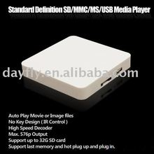 Adverting player box/SD/MMC USB media player/TV Card player Auto play/Iplayer TV009