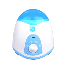 GL baby Bottle Warmer NQ-806 Electric Portable baby bottle warmer food warmer anti-dry heating EU Plug white&light blue color