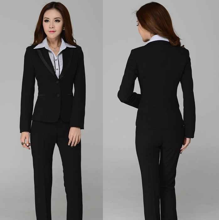 High Quality Black Business Suit for Women Promotion-Shop for High ...