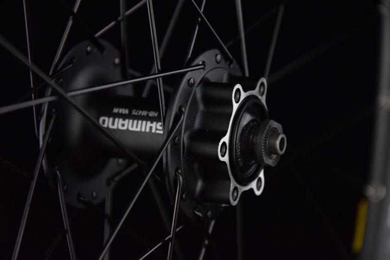 disc brake wheelset-center lock 8