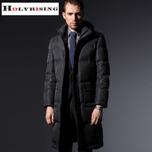 Thickening plus-size casual waterproof men down jacket 80% goose down winter jacket men parka men manteau homme 2 colours