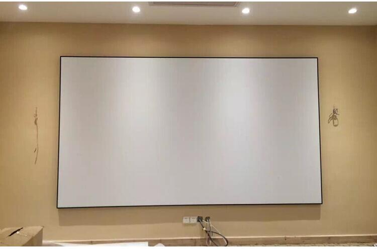 92inch matt white screen pic 11