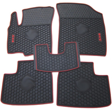Special car mats for Suzuki SX4 Swift Jimny waterproof rubber green latex texture non slip easy to clean