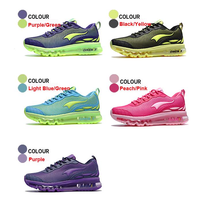 ONEMIX Breathable Mesh Running Shoes for Men Women Sneakers Comfortable Sport Shoes for Outdoor Jogging Trekking Walking 34