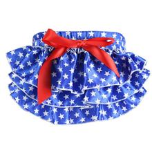 Lovely Baby Ruffle Bloomers Layers Diaper Cover Print Shorts Skirts Costume Clothing For Newborns