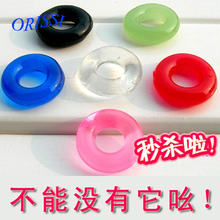 Buy ORISSI 5 Pcs/lot Silicone Time Delay Penis Ring Cock Rings Adult Products Male Sex Toys Crystal Ring Color Random