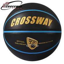 Wholesale or retail Hight Quality CROSSWAY 707 Basketball Ball PU Materia Official Size7 Basketball Free With Net Bag+ Needle(China)