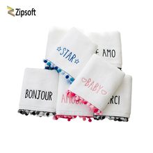 Letter Quick-Dry Absorbent Size 70x140cm/33*75cm Drying Washing Stripe Soft 2017 The Water Cube Travel Portable Face Towel(China)