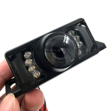 Wide Viewing Angle Waterproof Reversing Backup Camera 7 IR LED Night Car Rear View Camera(China)