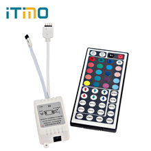 LED Strip Controller For RGB SMD 3528 5050 LED Strip LED Controller DC 12V 44 Keys RGB Controlers IR Remote Dimmer