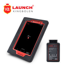 Launch X431 V 8inch Support WiFi/Bluetooth Car diagnostic Tool with wifi printer as gift batter than Launch X-431 PROS mini(China)