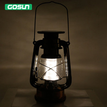 Solar powered Portable Dimmable  Led Baron Lantern  Emergency Indoor/outdoor  table/wall Night Light