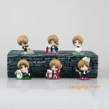Action Figure Natsume Yuujinchou 1/12 scale painted figure Q Ver. Natsume Takashi and Ban figure one pack of six(China)