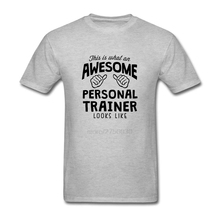Casual Male Tees Awesome Personal Trainer Looks Like Camisetas Men Plus Size Awesome Personal Trainer Looks Like T Shirts