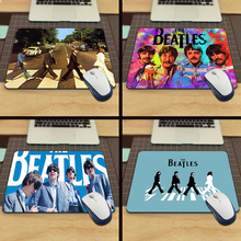 MaiYaCa Hot The Beatles Abbey Road Design Silicon Anti-slip Mousepad Computer Mouse Pad Mat For Optical Mice Trackball Mouse