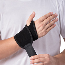 Naturehike 1PC 330*90*70mm Weight Lifting Wristband Gym Exercises Thumb Wrist Wrap Bandage Training Safety Hand Brace With Strap