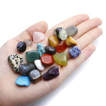 2017 Hot Selling 20x Mini Natural Quartz Healing Stone And Minerals Display Box Collection Ornament Decoration 0.4-0.9 Inches(China)
