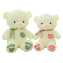 1pcs 45cm/60cm Birthday Valentines Gift Bow Tie Teddy Bear Wedding Plush Toy Lovely Baby Toys High Quality Loving heart Bear(China)