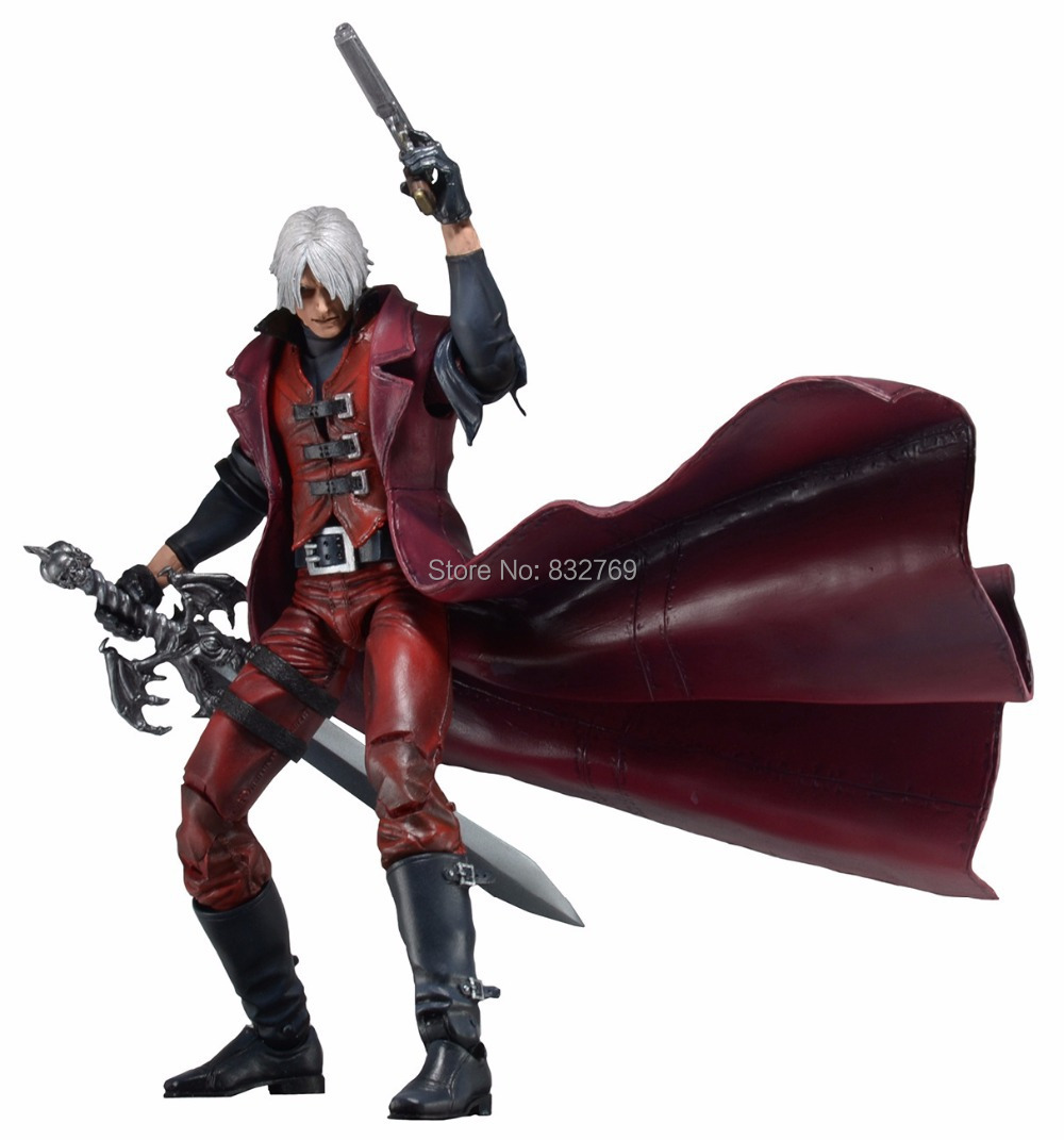 NECA Devil May Cry Dante7 Dante in Devil May Cry movable model toys PVC Action Figure Collectible modelo Toy<br><br>Aliexpress