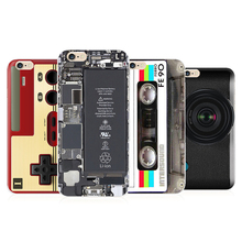 Case For iphone 7 Retro Soft TPU Game Boy Camera Cassette Machine Cartoon Painted Cover For iPhone 5 5S SE 5G 6G 6 6s Plus Cases