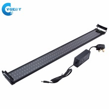 96CM 144 LED Aquarium LED Lighting Fish Tank Light Lamp Submersible Underwater Lamps Fit For Aquarium Fish Supplies(China)