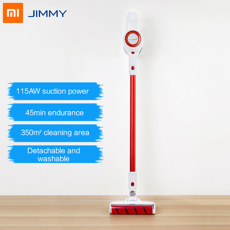 100000rpm JIMMY JV51 Handheld Wireless Vacuum Cleaner Portable Cordless 115AW Strong Suction Aspirador Cyclone Dust Collector (China)