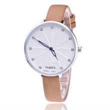 Watches Women's Quartz Wristwatches Meteor Diamond Fashion Leather Casual Personality Simple No Word Jewelry Watches W00027(China)
