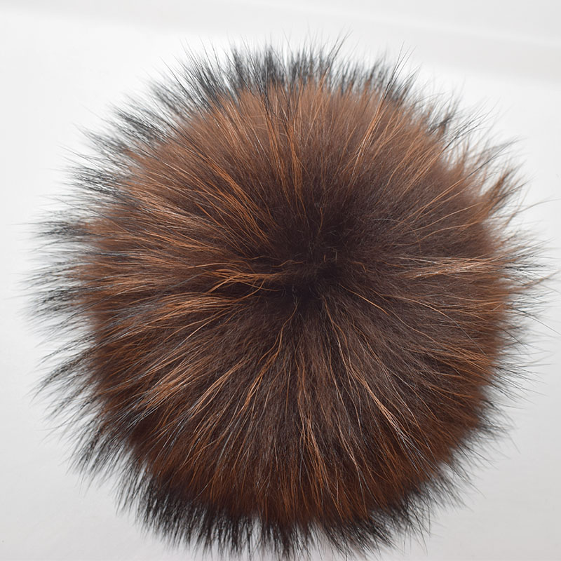 raccoon fur pompom coffee 2