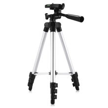 HM3110A Protable Camera Tripod Aluminum alloy with Quick release plate Rocker Arm for Canon Nikon Sony DSLR Camera DV Camcorder